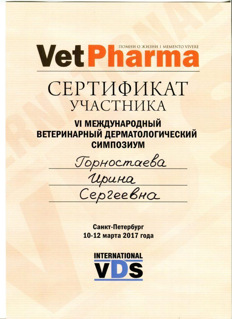 Сертификат 2017001